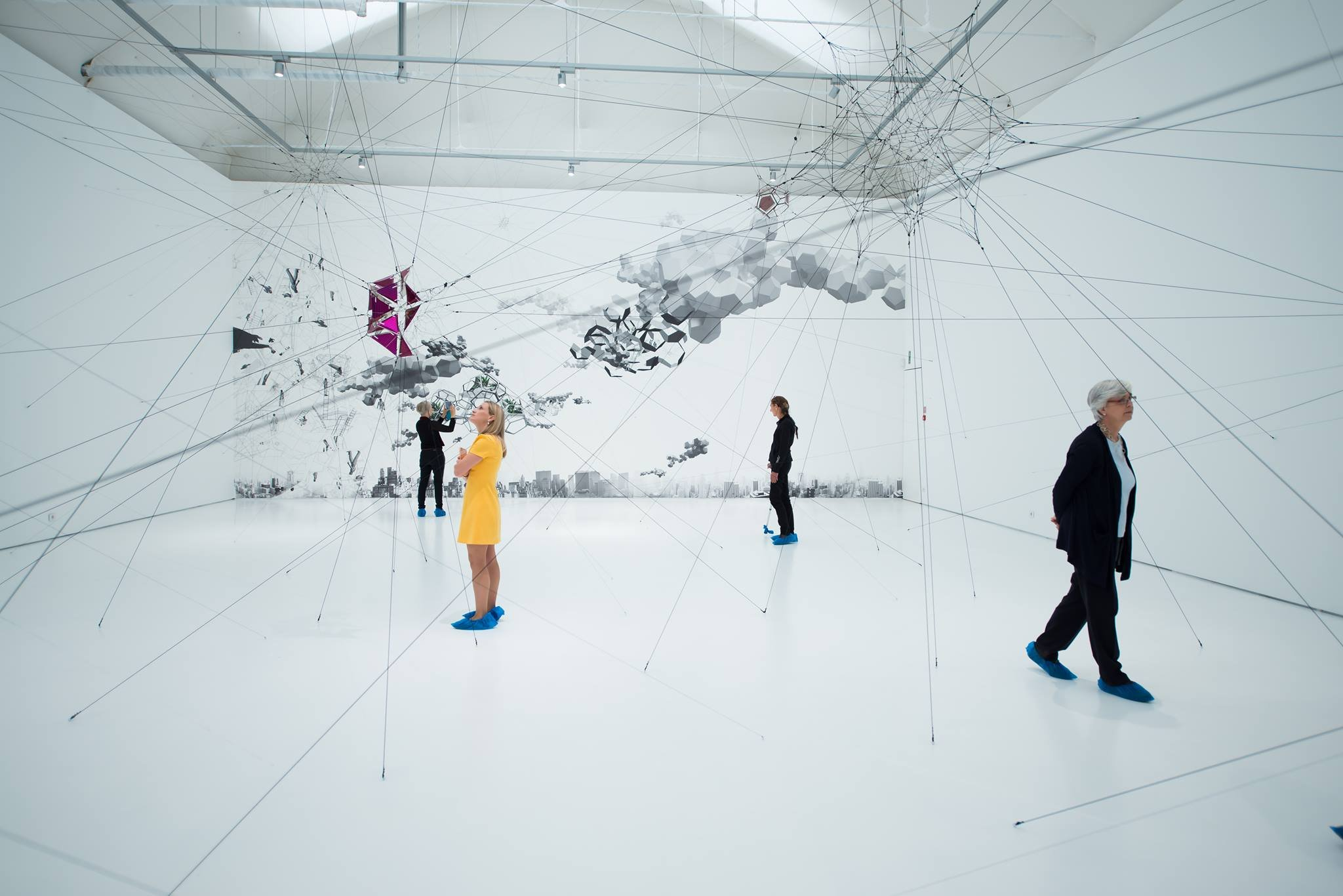 Tomas Saraceno, Vanhaerents Art Collection (Brussels). sculpture network International Forum 2016. Foto: Christine Chilcott