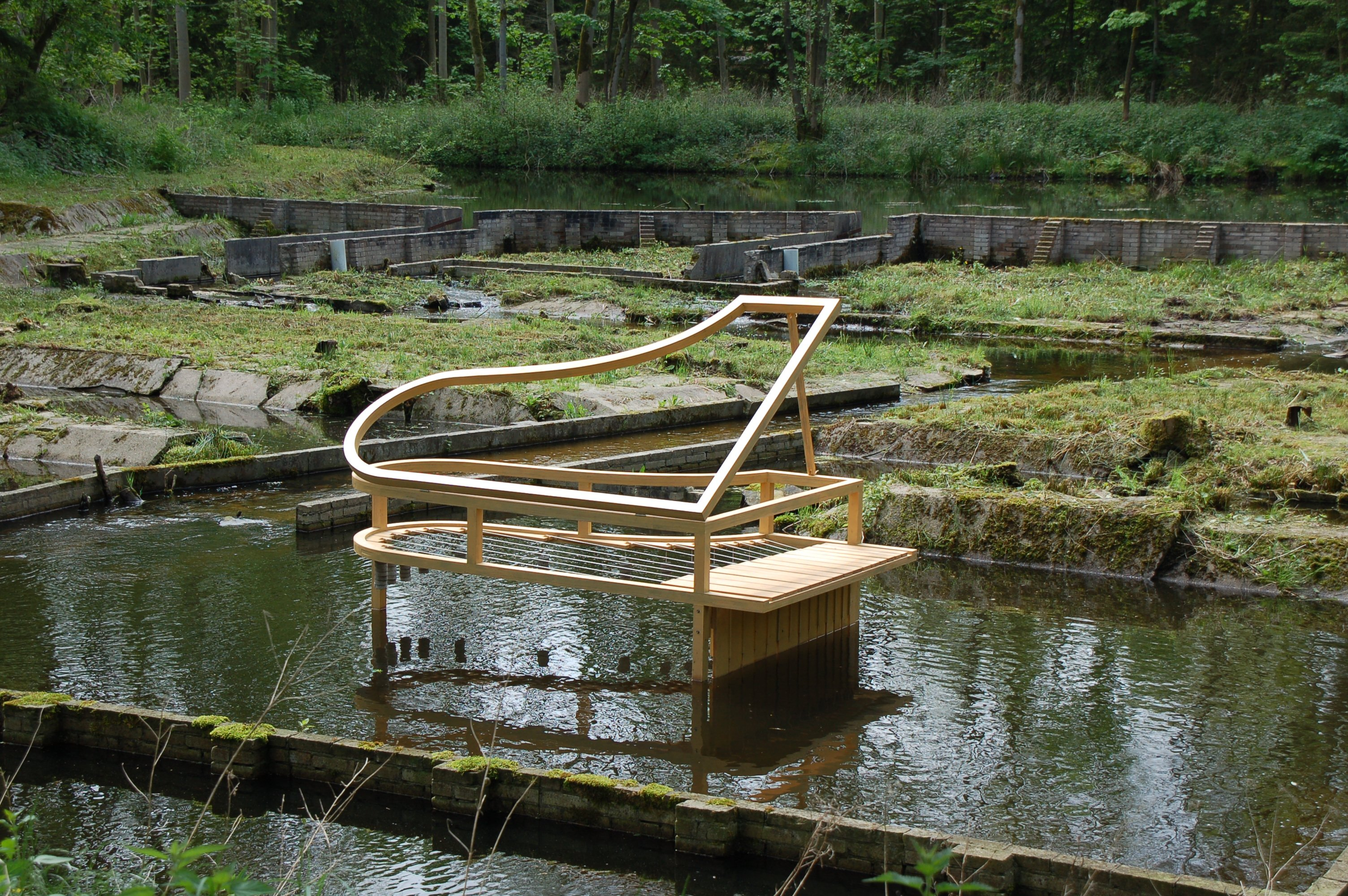 Joseph Tasnadi, Waterpiano