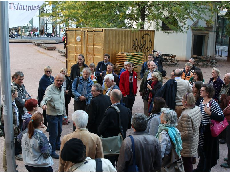 Guided tour at the OÖ Kulturquartier by Martin Sturm (Director)