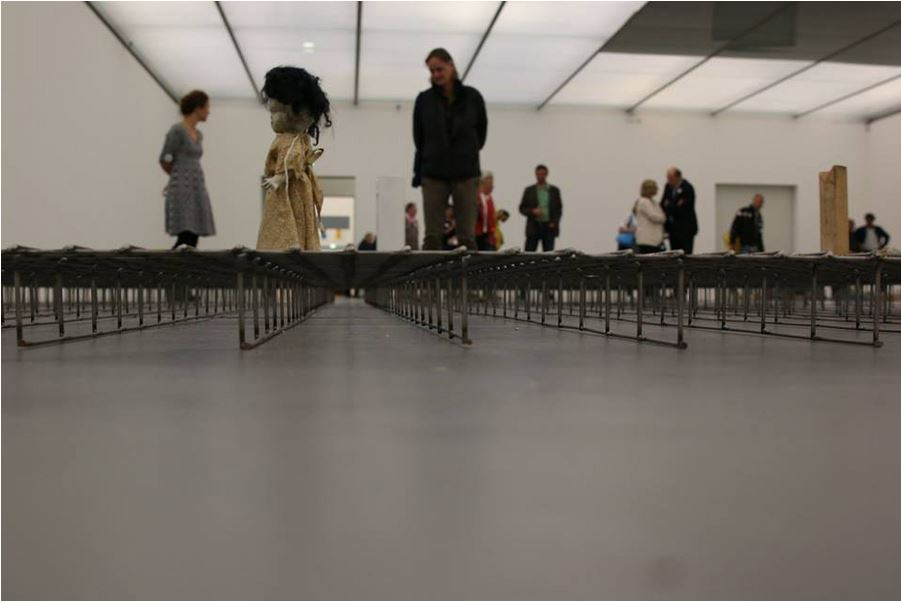"Exhibition ""Cathy Wilkes"" in the Lentos Kunstmuseum"