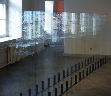 Christine Candolin, Matter & Light (2008), Glas, Mixed Media, Video
