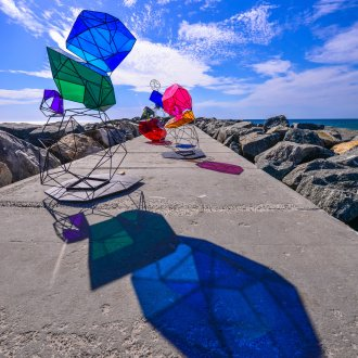 Alessandra Rossi, Cairn, Sculpture by the Sea, Cottesloe 2019 ©Clyde Yee