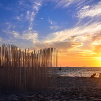 Miik Green, Untitled, Sculpture by the Sea, Cottesloe 2019 ©Clyde Yee