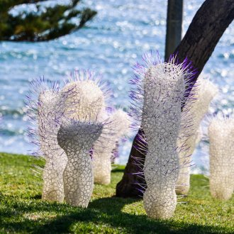 Rima Zabaneh, Berenice Rarig, Sculpture by the Sea, Cottesloe 2019 ©Clyde Yee