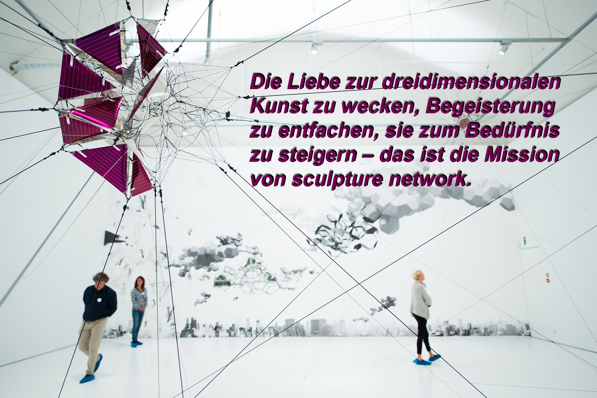 sculpture networks Mission. Foto: Christine Chilcott
