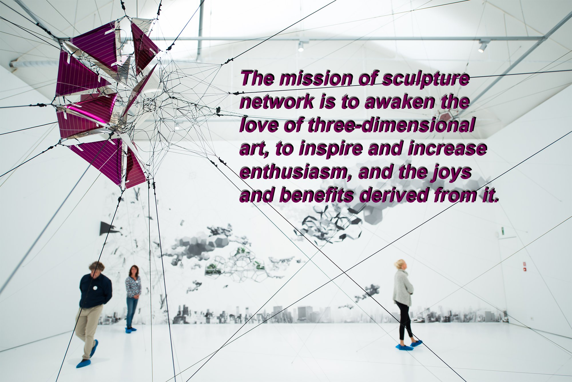 sculpture network's mission. Photo: Christine Chilcott